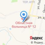 Скорая медицинская помощь на карте Заводоуковска