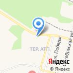 Автомобилист на карте Заводоуковска
