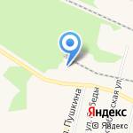 Специализированный магазин-сервис автозапчастей для УАЗ на карте Заводоуковска