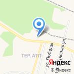 Югория на карте Заводоуковска