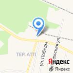 АЗС на карте Заводоуковска