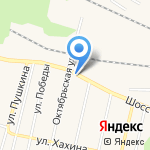 Астарта на карте Заводоуковска