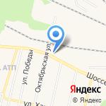 Домовой на карте Заводоуковска