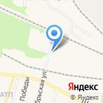 Отдел военного комиссариата Тюменской области по Заводоуковскому и Упоровскому районам на карте Заводоуковска
