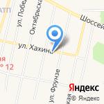 Континент на карте Заводоуковска