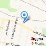 Фламинго на карте Заводоуковска
