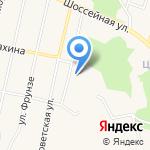 Средняя общеобразовательная школа №1 на карте Заводоуковска