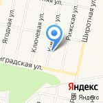 Сударушка на карте Заводоуковска