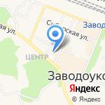 Очаг на карте Заводоуковска
