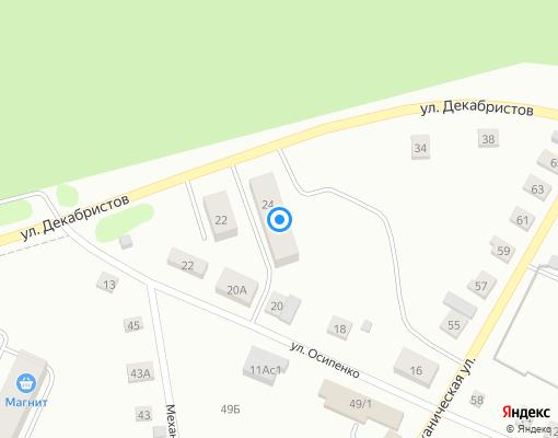 Управляющая компания «Комфорт» на карте Заводоуковска