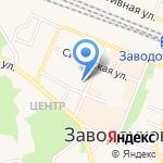 Светлячок на карте Заводоуковска