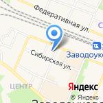 Заводоуковский культурно-досуговый центр на карте Заводоуковска