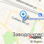 Заводоуковский краеведческий музей на карте Заводоуковска