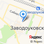 Детская поликлиника на карте Заводоуковска