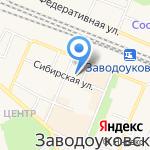 Центр занятости населения Заводоуковского городского округа на карте Заводоуковска