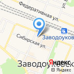 Сбербанк на карте Заводоуковска