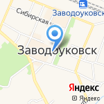Вариант на карте Заводоуковска