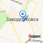 Заводоуковские вести на карте Заводоуковска
