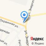 Газпромнефть на карте Заводоуковска