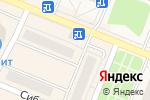 Схема проезда до компании Универсал в Заводоуковске