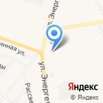 Н-1 на карте Заводоуковска