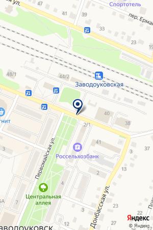 БОРОВИНКА на карте Заводоуковска