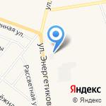 Перестройка на карте Заводоуковска