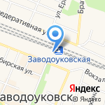 Банкомат на карте Заводоуковска