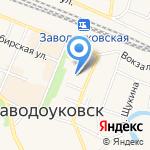Пятерочка на карте Заводоуковска