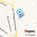 Южный на карте Заводоуковска