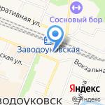 Надежда на карте Заводоуковска
