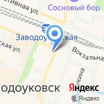 Анечка и Ванечка на карте Заводоуковска