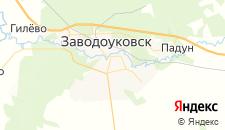 Гостиницы города Заводоуковск на карте