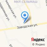 Алёнушка на карте Заводоуковска