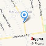 Ремонтная мастерская на карте Заводоуковска