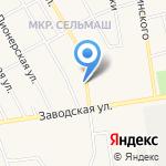 Ассорти на карте Заводоуковска
