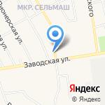Колорит на карте Заводоуковска