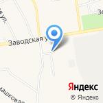 Форсаж на карте Заводоуковска