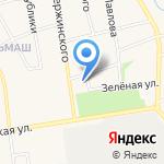 Дом культуры Машиностроителей на карте Заводоуковска