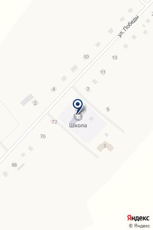 Авазбакеева-Красноярская средняя общеобразовательная школа на карте Авазбакеевой