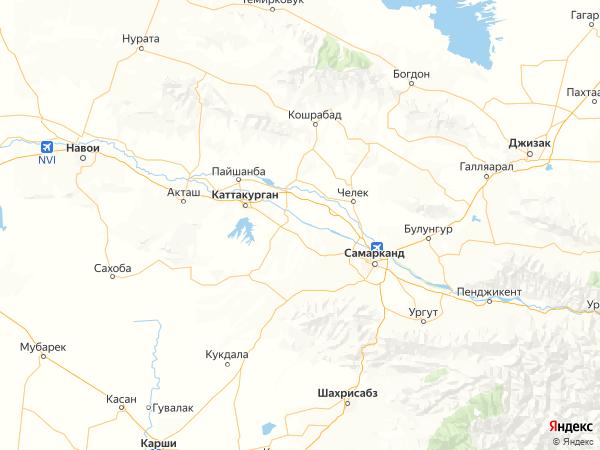 село Янгиюль на карте