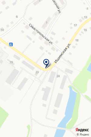 ФИРМА СТРОИТЕЛЬ на карте Заводоуковска