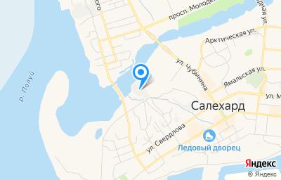 Местоположение на карте пункта техосмотра по адресу г Салехард, ул Сенькина, д 103, кв 5