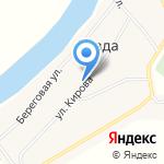 Продуктовый магазин на карте Ревды