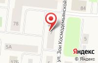 Схема проезда до компании Пожарная часть №178 в Мирном