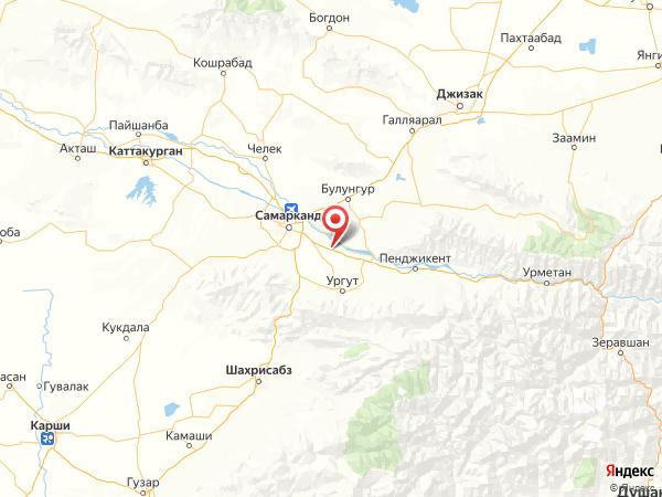 село Сарай на карте