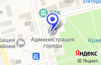 Схема проезда до компании ПТФ ЭНЕРГИЯ - 1 в Макушине