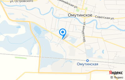 Местоположение на карте пункта техосмотра по адресу Тюменская обл, с Омутинское, ул Строителей, д 2А стр 3