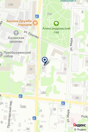 АВТОСЕРВИС на карте Тобольска