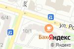 Схема проезда до компании Сервер-Авто в Тобольске
